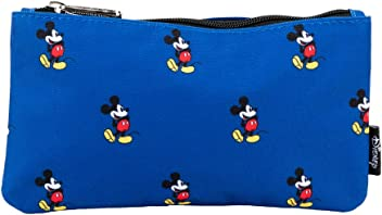 4f4559634 Loungefly Make Up Bags Loungefly x Disney Mickey Mouse Print Blue Pouch Blue