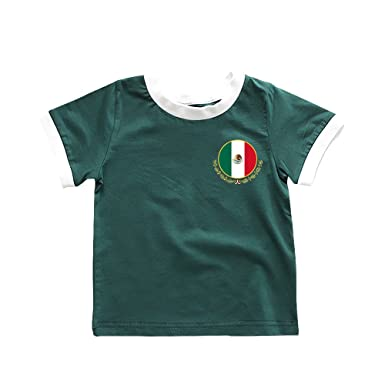 e79b5e303 Amazon.com: Toddler Mexico Soccer T-Shirt 2018 Chicharito #14 Jersey ...