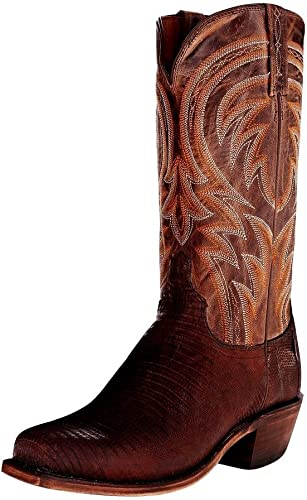M1006 74 Lucchese Mens Handmade 1883 Cole Cowboy Boot Square Toe