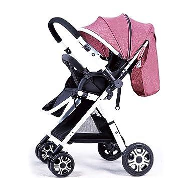 Yankuoo Carrito de viaje para bebés, cochecito de bebé de choque ...