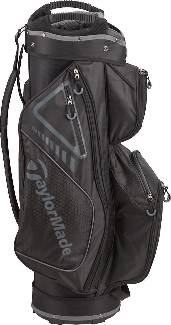 TaylorMade 2019 Golf Select Cart Bag, Black/Charcoal by TaylorMade