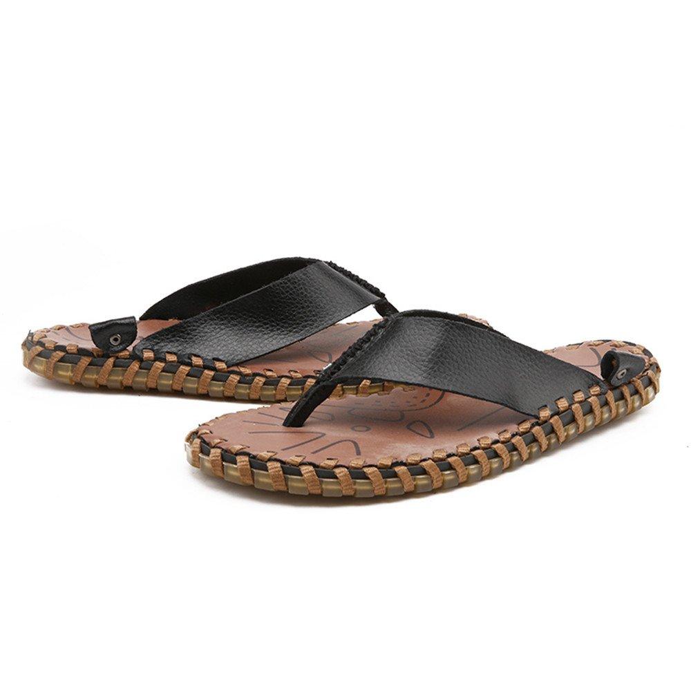 Xujw schuhe Heren Sandalen, Männer aus Flip Flops Schuhe aus Männer echtem ... 52663c
