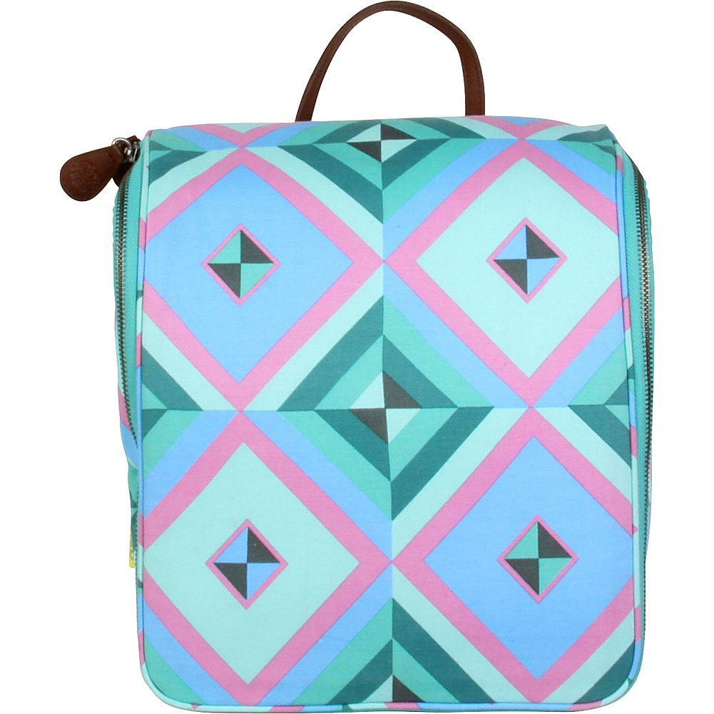 Amy Butler for Kalencom Sweet Traveler Toiletry Kit (Sky Pyramid/Azure) by Amy Butler