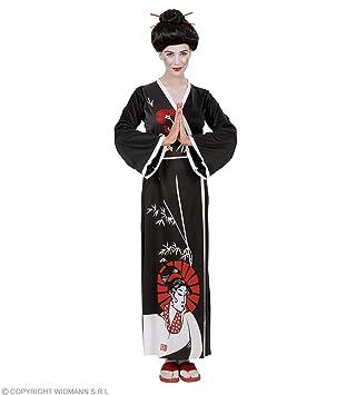 Desconocido Disfraz de Geisha Kimono Mujer: Amazon.es: Juguetes y ...