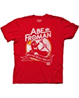 Ripple Junction Ferris Bueller's Day Off Abe Froman Adult T-Shirt