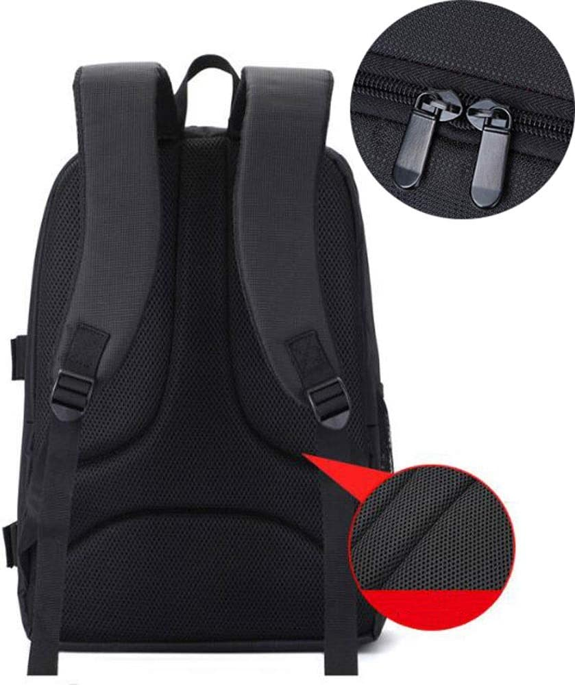 Flash or Other Accessories Slivy Camera Case Shockproof Color : Red Mirrorless Camera 31x18x44cm Red Interior Camera Backpack Bag with Tripod Holder for DSLR