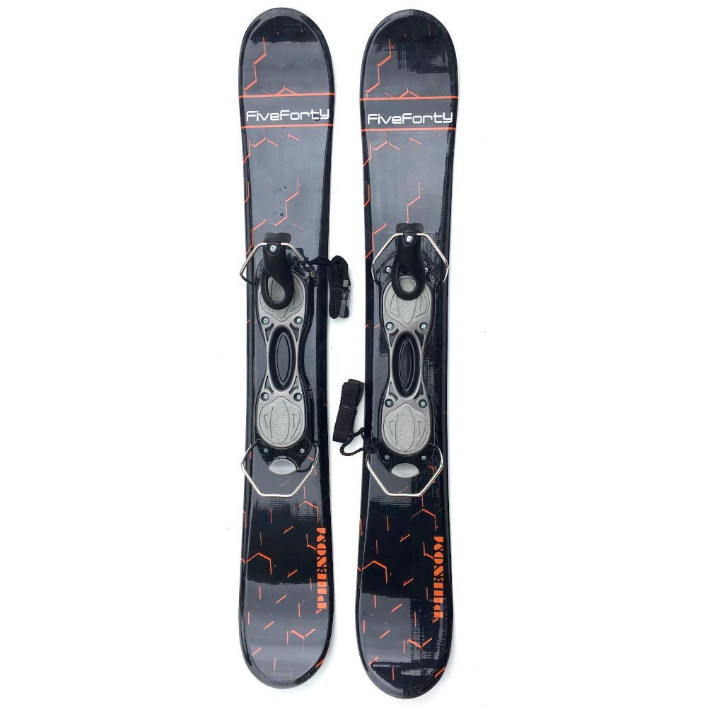 Snowjam Five Forty Phenom 75cm Skiboards Snowblades with ski boot bindings 2018