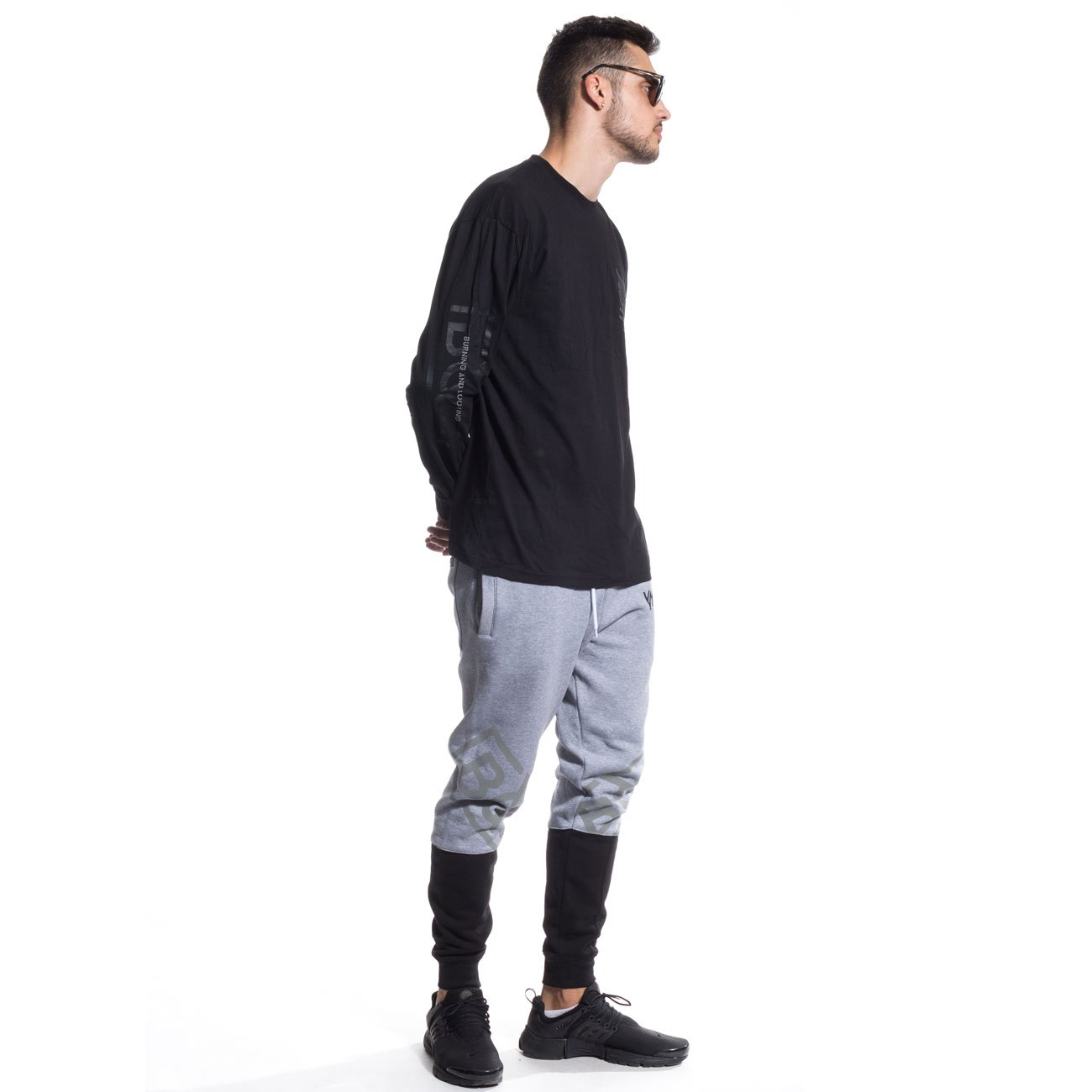 GRIMEY Pantalon Chandal Fire Eater Sweatpants FW16 Sport GREY-3XL ...