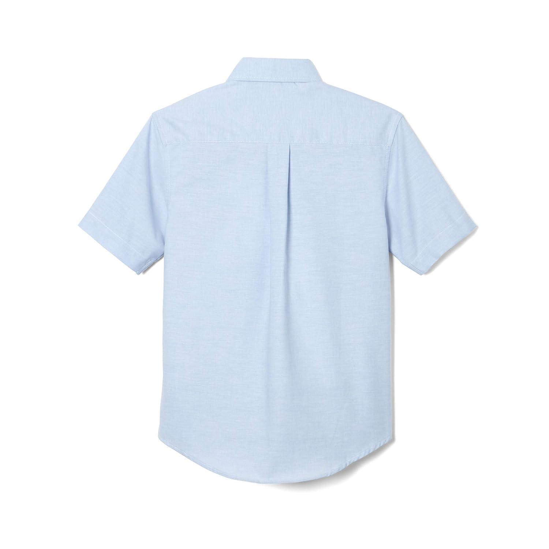 French Toast Baby Boys Toddler Short Sleeve Oxford Dress Shirt Standard /& Husky
