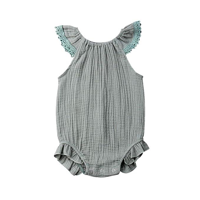 Amazon.com: Bebé recién nacido de la Niña de Encaje de la ...