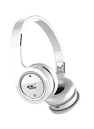 Avenzo AV604BC - Auriculares de diadema cerrados (con Bluetooth, estéreo, micrófono) color blanco: Amazon.es: Electrónica