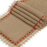 Burlap Ribbon 2.5''X10Y Natural Wired