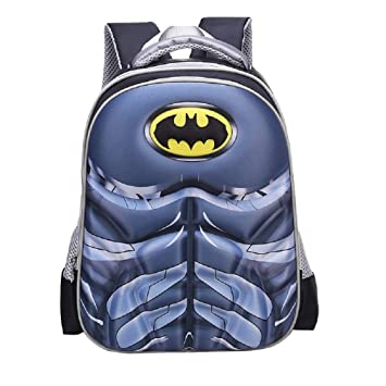 Samanthajane Clothing - Mochila Infantil Negro Batman: Amazon.es: Equipaje