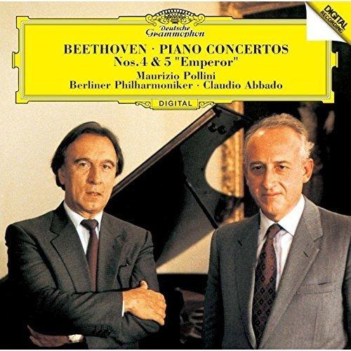 CD : Beethoven - Pollini, Maurizio - Beethoven: Piano Concertos 4 (Super-High Material CD, Japan - Import)
