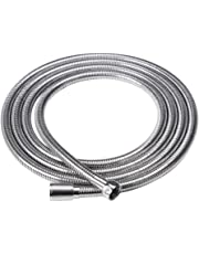 Extra Long Replacement Anti Kink Shower Hose 118-Inch (3-Meter) Stainless Steel, Polished Chrome
