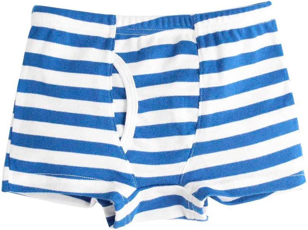 Kidear Kids Series Soft Cotton Toddler Underwear Little Boys Assorted Boxer Shorts Briefs Pack of 6