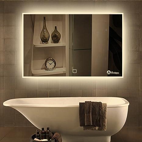 Anten Miroir Led Lampe De Miroir Eclairage Salle De Bain Miroir