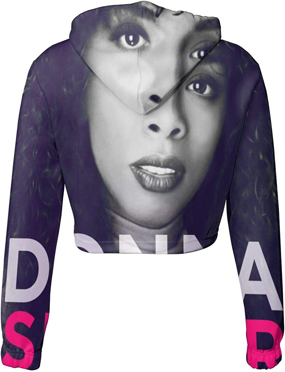 KegamiMisa Donna Summer Womens Breathable Dew Navel Cropped Sweater