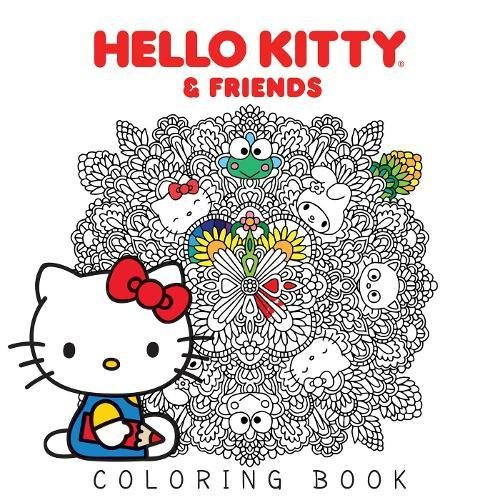 coloring book hello kitty - 4