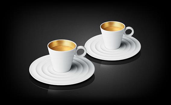 Premium Espresso Gold Cups | Accessories | Nespresso USA