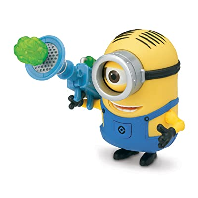 Despicable Me Stuart Deluxe Action Figure with Fart Dart Launcher: Toys & Games