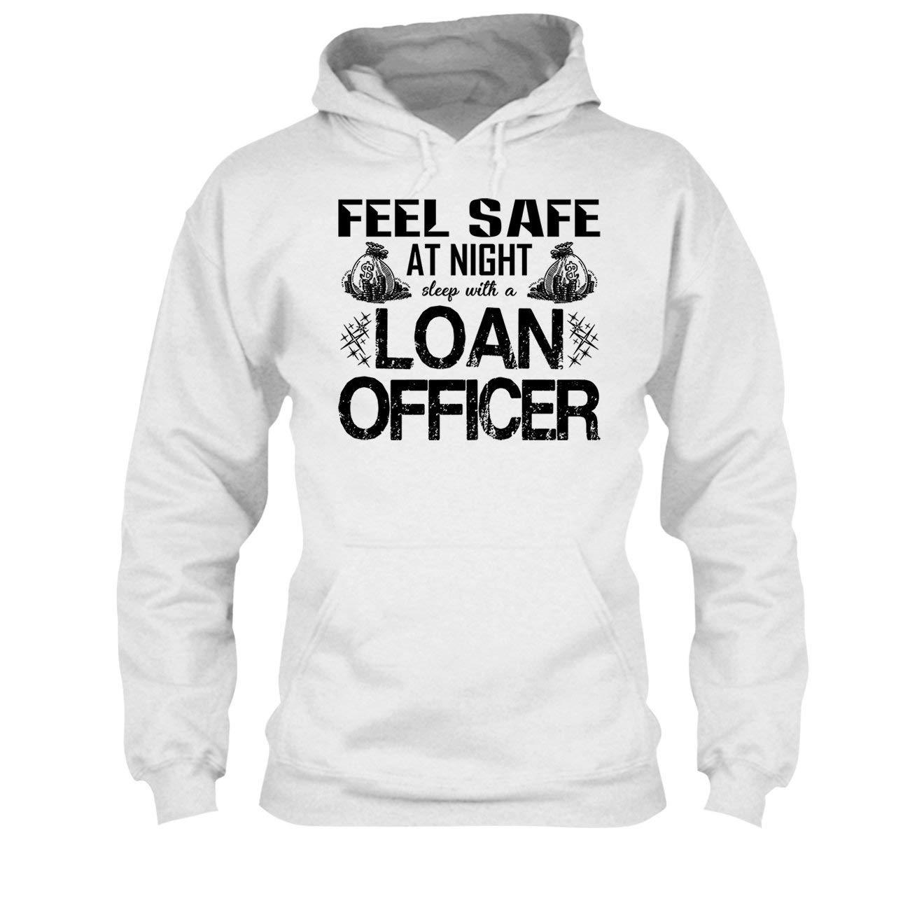 Sweatshirt Design Tee Shirt Sleep with A Loan Officer Tshirt