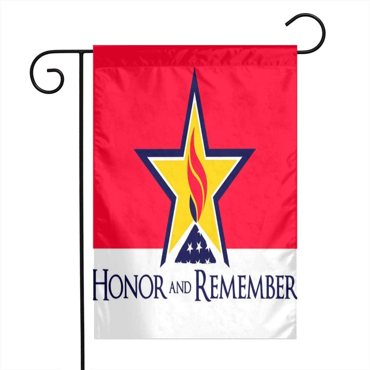 Alin-Z Garden Flag Decoration Honor and Remember Flag Banner Decorative Sweet Home Yard Outdoor Decor 12X18inch