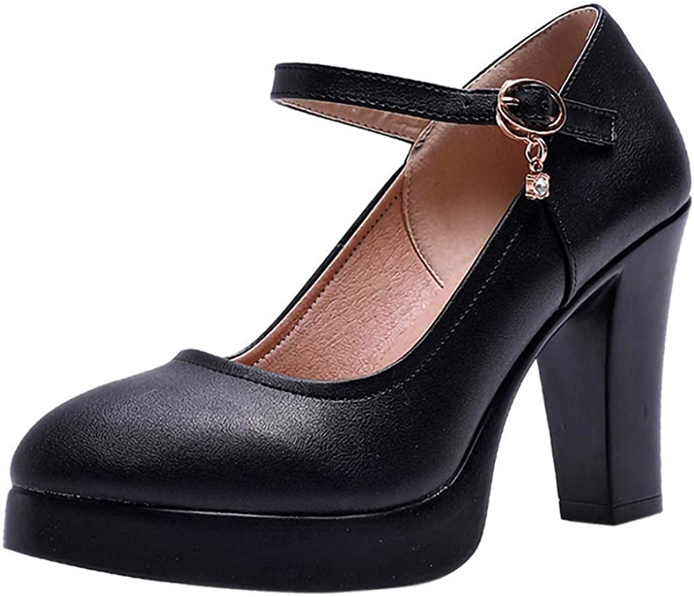 Women Mary Jane Pumps Lolita High Heel