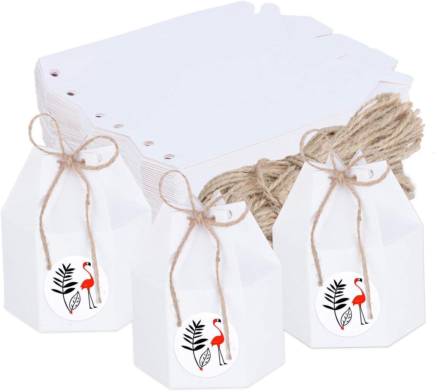 Amazon.de TsunNee 10 Stück Süßigkeiten Boxen aus Papier ...