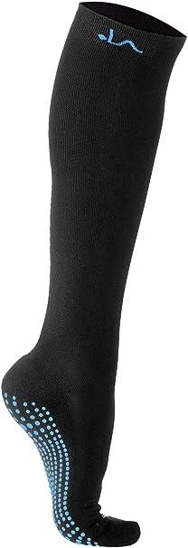 Damen Herren Kompressionssocken Kniehoch Stützstrümpfe Bein Reitschutzausrüstung