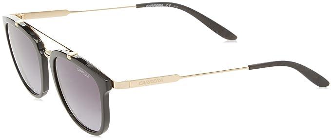Carrera 127/S HD 6UB Gafas de sol, Negro (Shn Black Gd/Grey ...