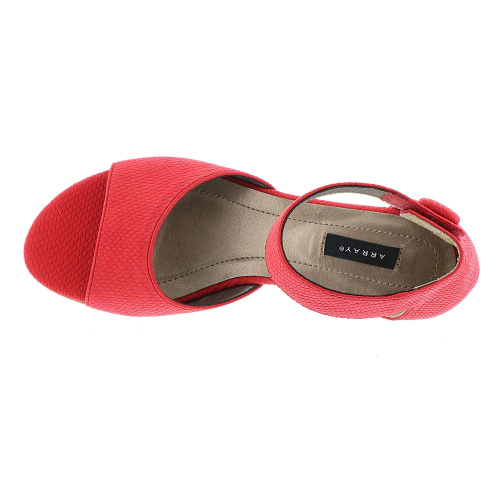 d01dd89d80170 ARRAY Havana Women's Sandal 8 B(M) US Red