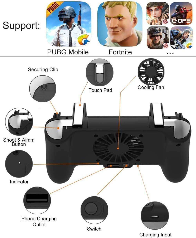 Amazon.com: Controlador de juegos móvil [versión actualizada ...