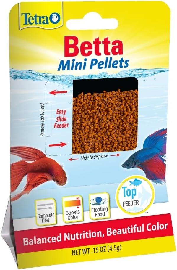 TetraBetta Floating Mini Pellets (1 Bag), 0.15 oz