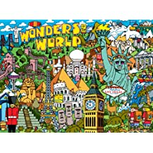 Buffalo Games Cartoon World Dave Garbot Wonders of the World, 1000-Piece Jigsaw Puzzle