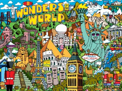 [Buffalo Games Cartoon World: Dave Garbot Wonders of the World - 1000 Piece Jigsaw Puzzle by Buffalo Games] (Cartoon Jigsaw Puzzles)