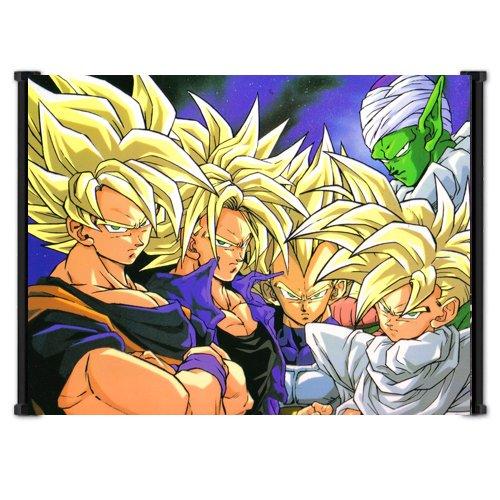 Dragon Ball Z Anime Fabric Wall Scroll Poster Wp DragonBallZ-96