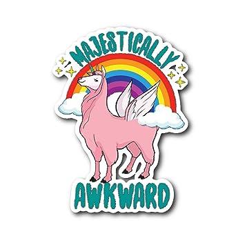 Amazon.com: Freshoutlook Majestically Awkward Sticker ...