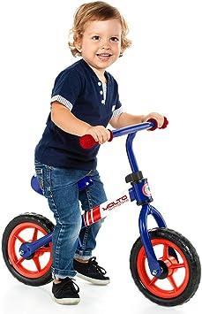 Bicicleta sin Pedales Infantil - Minibike Azul Molto: Amazon.es: Juguetes y juegos