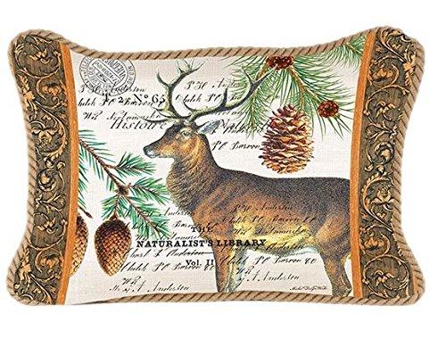 Michel Design Works Decorative Rectangular Throw Pillow, Balsam Fir