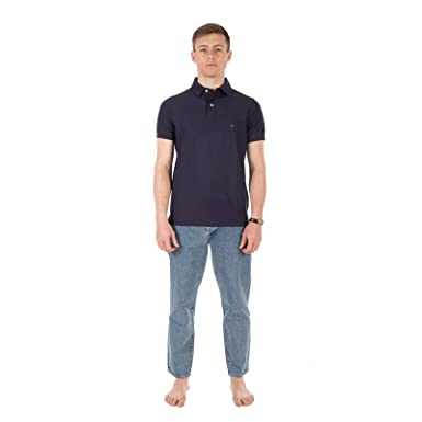 Tommy Hilfiger Stretch Slim Fit tee Camiseta para Hombre: Amazon ...