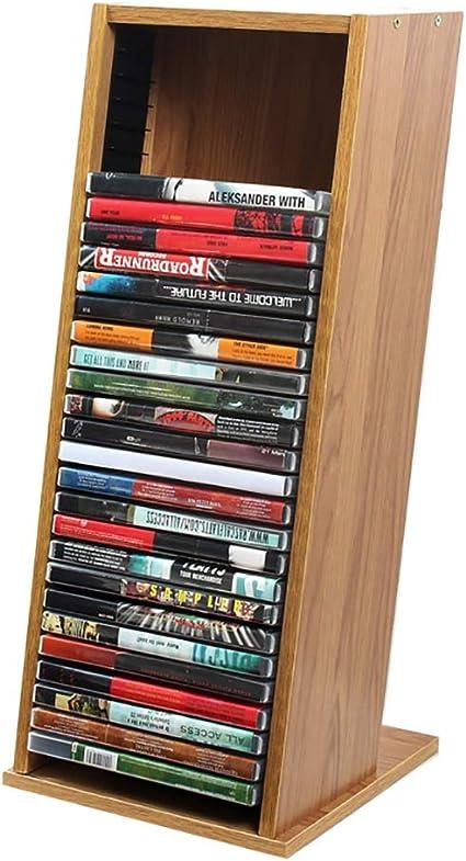 GWXJZ Estanterías para CD DVD Juego de Discos PS4 Rack Rack ...