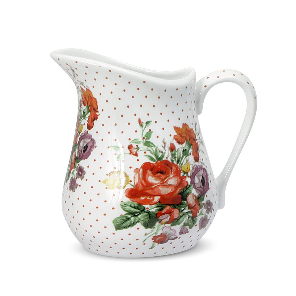 Katie Alice Scarlet Posey Creamer, 8-Ounce by Katie Alice (Image #1)