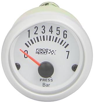 "Sumex Gaug524 - Manómetro Presión Aceite""Race Sport"", ..."