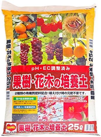 平和 果樹・花木の培養土 25L