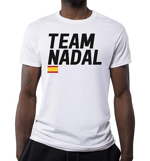 KRIKST Team Tennis Player Spain Camiseta para Hombre: Amazon.es ...