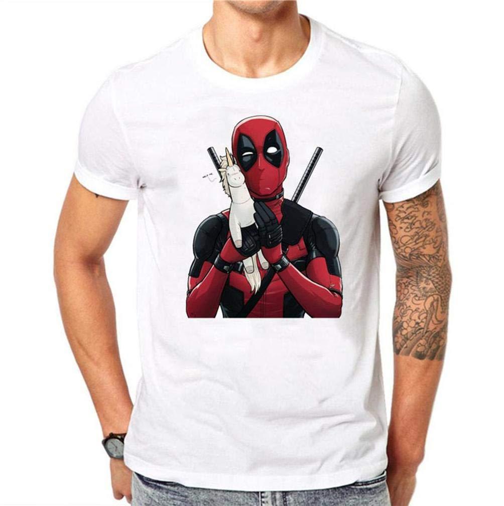 Kawaii Deadpool 12 S T Shirt Printing Short Sleeve Tee