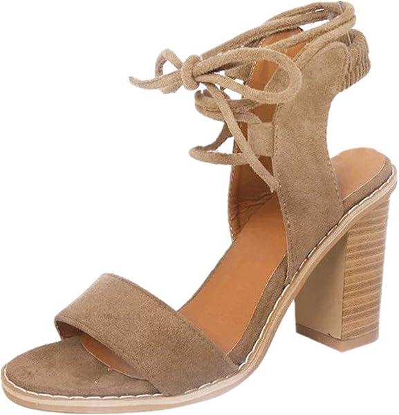 2d75e19fb8e1 VEMOW High Heels for Women