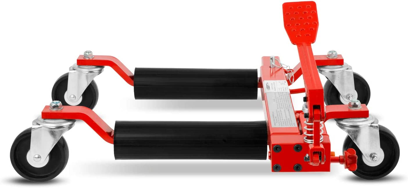 680kg Carico per unit/à, 630mm Estensione Max, 285 mm Altezza di Sollevamento Max. EBERTH 9 Carrello per movimentazione Veicoli