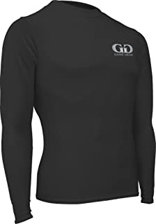 product image for Game Gear HT-603LY-CB Boy's and Girl's Athletic Compression Long Sleeve Crew Neck Shirt